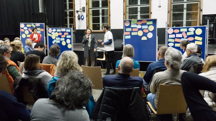 Zu Wort kommen in München © Gemeinsam für Menschenrechte und Demokratie