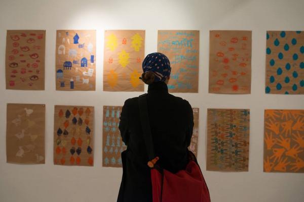 Peace of Paper stellt am 14.12. in der Färberei aus