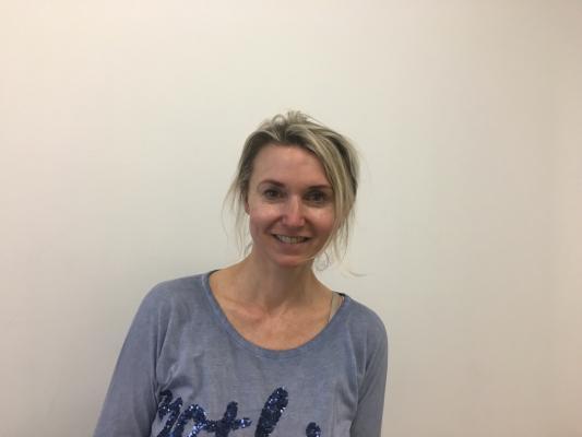 Frau Dr. Eller, Asylsozialarbeiterin in der GU in Freiham ©Meike Stahnke