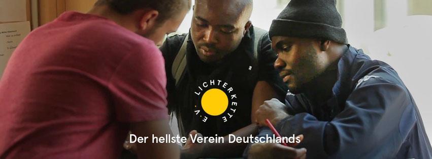 Ehrenamtlicher und Geflüchtete - Lichterkette e.V. München