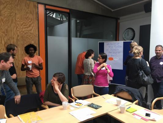 Teilnehmer am Netzwerktreffen Willkommen-in-München.de